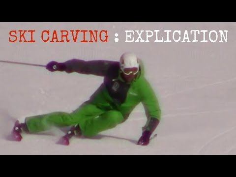 Carving how to carve on skis advanced ski lesson ski