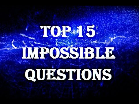 15 Trick Questions Impossible To Answer