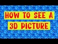 Download  How to see a magic eye picture! MP3,3GP,MP4