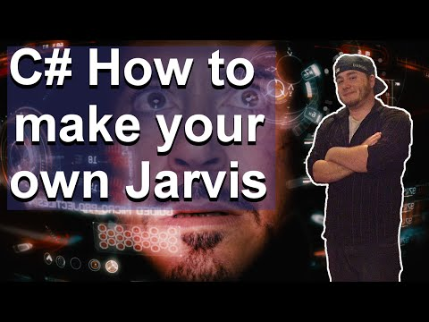C# Speech Recognition Tutorial - How to make your own Jarvis!