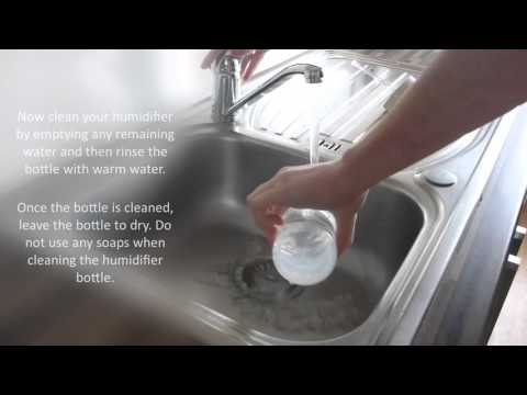 Dolby Vivisol - HOW TO CLEAN AND REFILL THE HUMIDIFIER BOTTLE