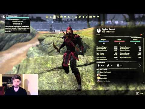 ESO: Dual Wield Sorcerer - High Spell Damage Build
