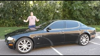 A Used Maserati Quattroporte is the Best Way to Look Rich for $20,000