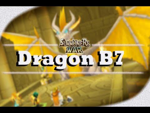 Summoners Wars Sky Arena - Saga Dragão / Dragon B7 - B10
