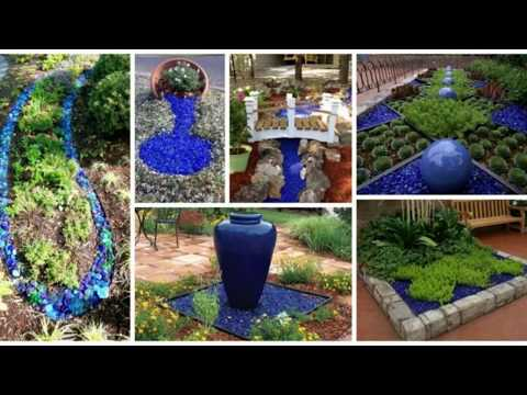 Glass | Mulch | Landscaping | 14 | Ideas