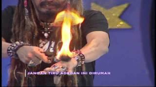 Master Limbad Membakar tangannya !! manggil Yuli - Jadilah Bintang (15/3)
