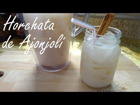 Horchata de Ajonjolí - Puerto Rican Horchata