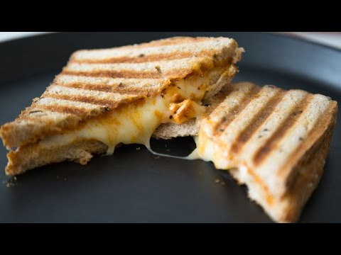 Grilled Pizza Sandwich | Quick & Easy Brunch Recipe By Teamwork Food