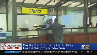 Car Rental Company Hertz Files For Bankruptcy Protection