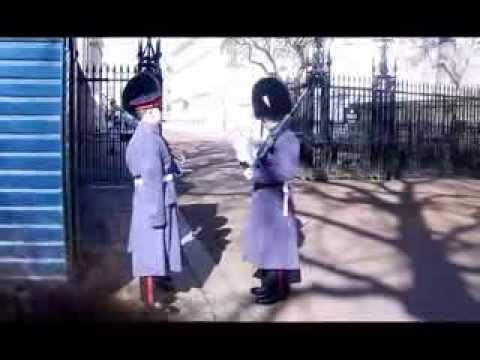 Changing of the Guard At Clarence House London