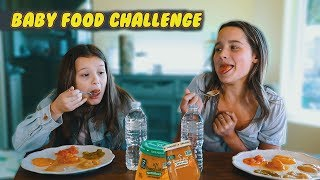 Download Baby Food Challenge | Hayley LeBlanc & Annie LeBlanc Video