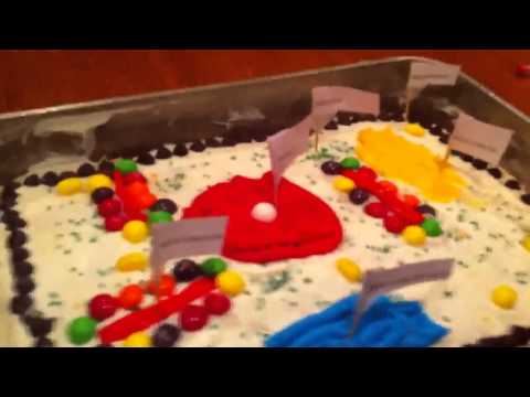 Fil and henry animal cell cake