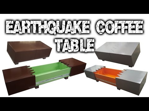 How to Build an Earthquake Coffee Table