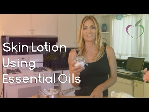 DIY Skin Lotion from Essential Oils