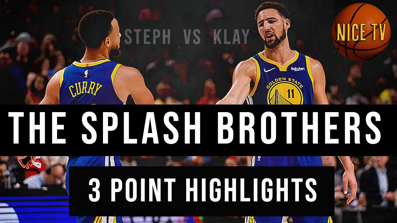 The Splash Brothers | Steph Curry| Klay Thompson | 3 point highlights
