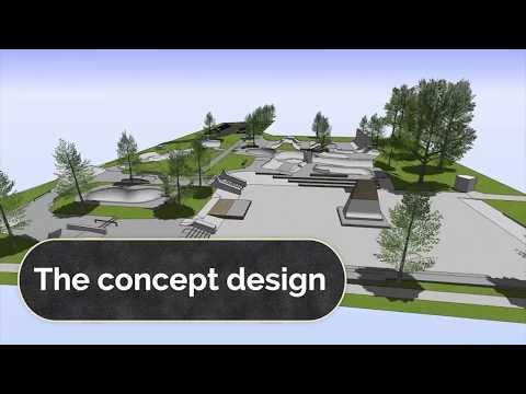 Rotorua Skate Park - Proposed Concept Design