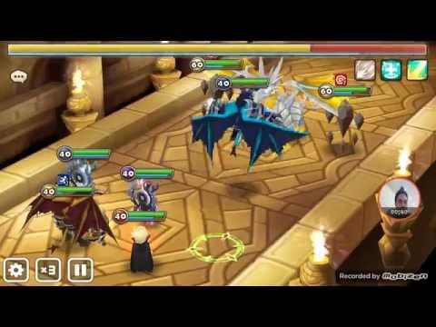 Summoners War : mana farming in Dragon B7 under 1.30 secs