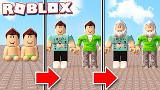 Roblox Adventures - REALISTIC LIFE SPAN IN ROBLOX! (Grow Old & Die)