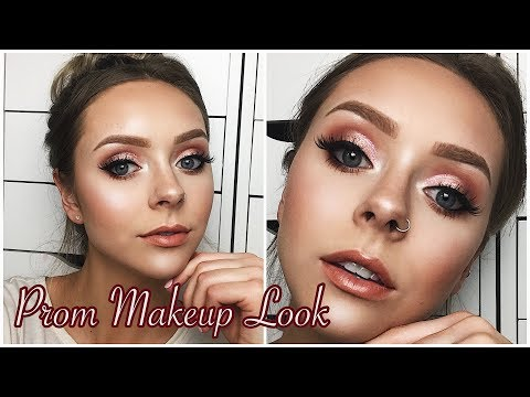ROMANTIC ROSE GOLD PROM MAKEUP LOOK | All Drugstore