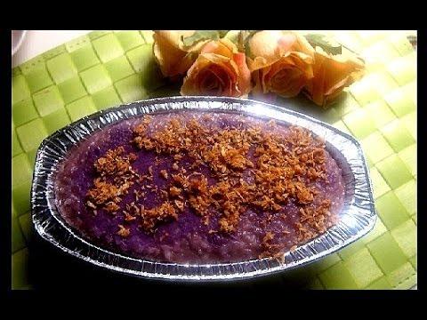 Ube Malagkit ( Rice Biko)
