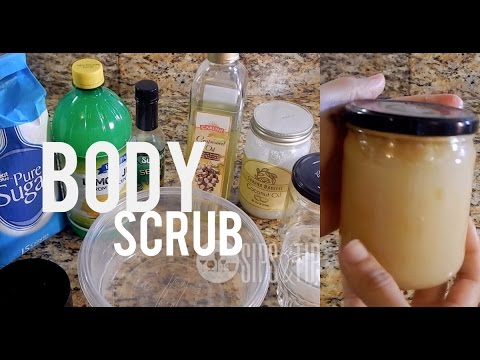 Body Scrub DIY:  Sugar & Lemon Skin Lightening Exfoliate