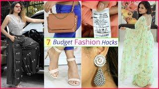 7 BUDGET Fashion HACKS To Look SUPER Stylish | #Teenager #LifeHacks #Anaysa #ShrutiArjunAnand