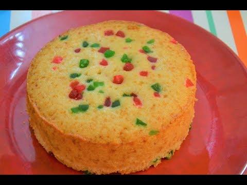 सोप्या पद्धतीने बनवा रवा केक | Eggless Rava Cake | Cake in Pressure Cooker | Easy way