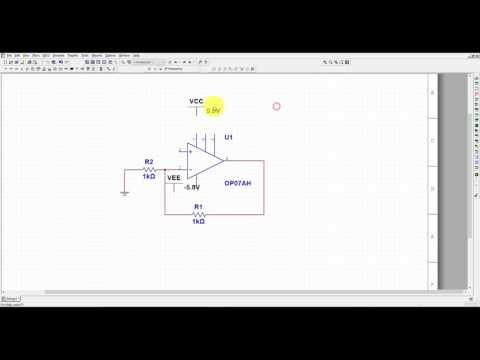 Multisim Tutorial 1- Opamp Amplifier Simulation for Beginners