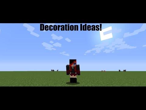 Minecraft Ideas : Outdoor Furniture!