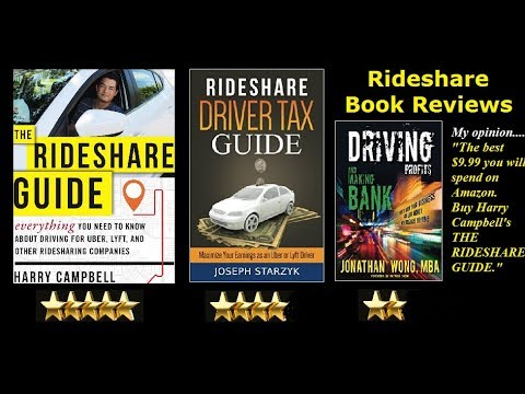 The Rideshare Guide by Harry Campbell. Book review. 5 STARS