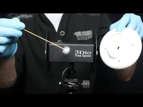 ASMR 3Dio Ear Removal for the Ultimate Deep Ear Cleaning! With Latex Gloves. (No Talking)