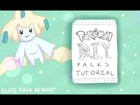 How to Make Homemade Pokemon Booster Packs! DIY