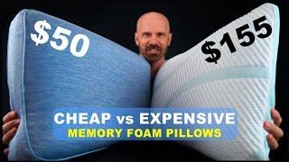 Cheap vs Expensive Memory Foam Pillows: Beautyrest vs Tempur-Pedic!