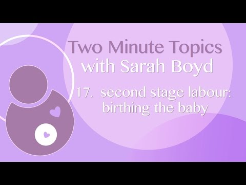 17 Second Stage of Labour - Birthing the Baby