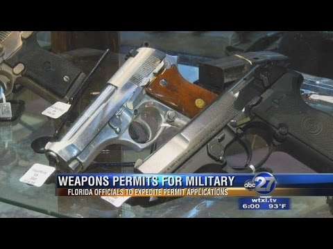 Veterans and Active Duty Military Getting Accelerated Gun Permits