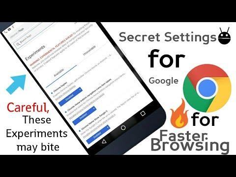 Secret Settings of Chrome for faster browsing 🔥🔥
