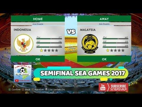 INDONESIA VS MALAYSIA [FULL MATCH] (LIVE) PC - SEMIFINAL SEA GAMES 2017