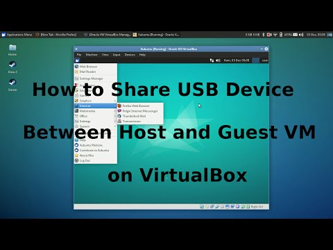 How to Share USB Devices between Host and Guest VM on VirtualBox