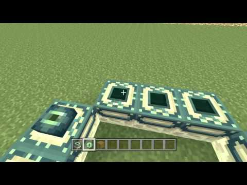 Minecraft: How To Make a Custom End portal PS4,PS3,Ipad,Pc,XBOX