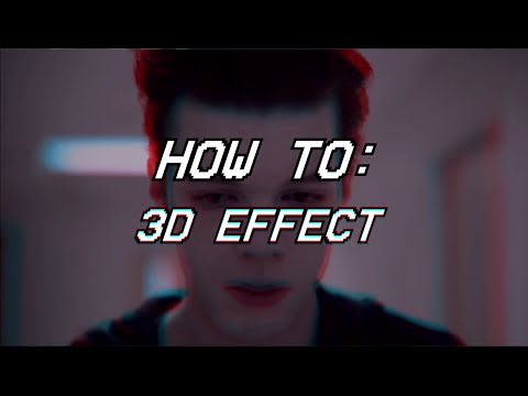 how to : 3D effect on sony vegas