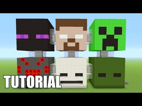Minecraft Tutorial: How To Make A Minecraft MOB!! Survival House/Apartment