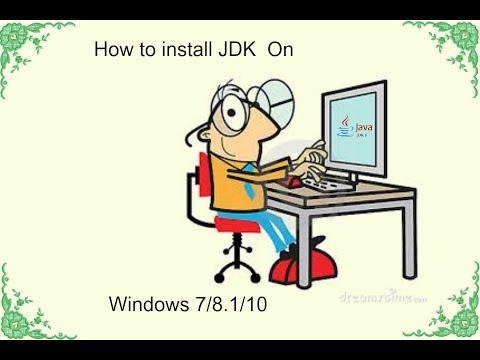 How to install JAVA JDK on windows 7/8.1/10(Bangla Tutorial)