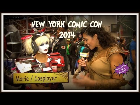 Comic Con & Cosplay in New York City 2014