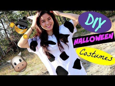 DIY last minute halloween costumes Moondimm