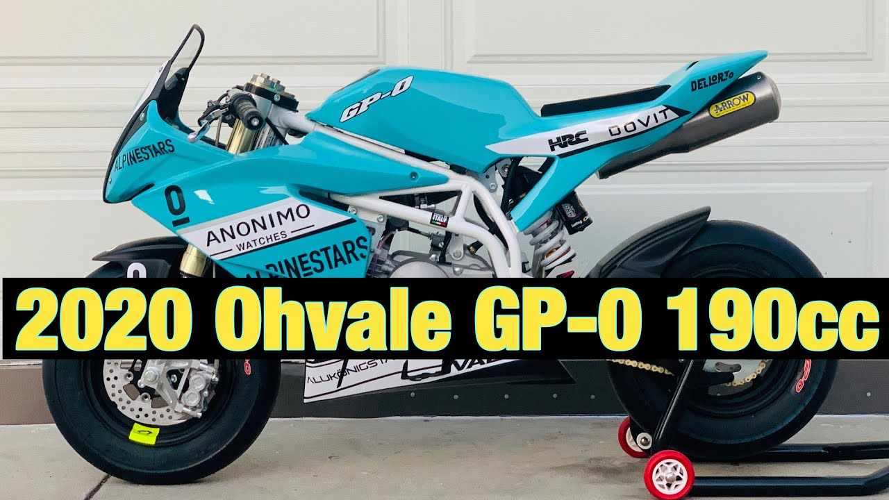 NEW 2020 Ohvale GP-0 190cc unboxing and review