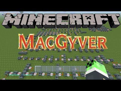 Macgyver Theme Song Minecraft Noteblock Song