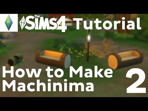 Machinima Tutorial | Sims 4 | Adjusting Speed and Style