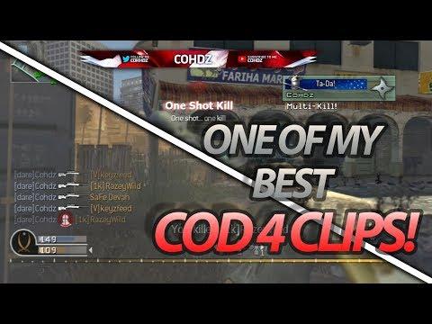I HIT A BANGER ON COD 4! | Live Highlights #47 | @cohhdz