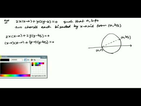 Lecture 2: Diametric form of circle and JEE PROBLEM by Shobhit Sir