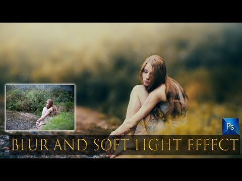 Soft Light Vintage Look Photoshop Tutorial With Free Preset Photo Effects